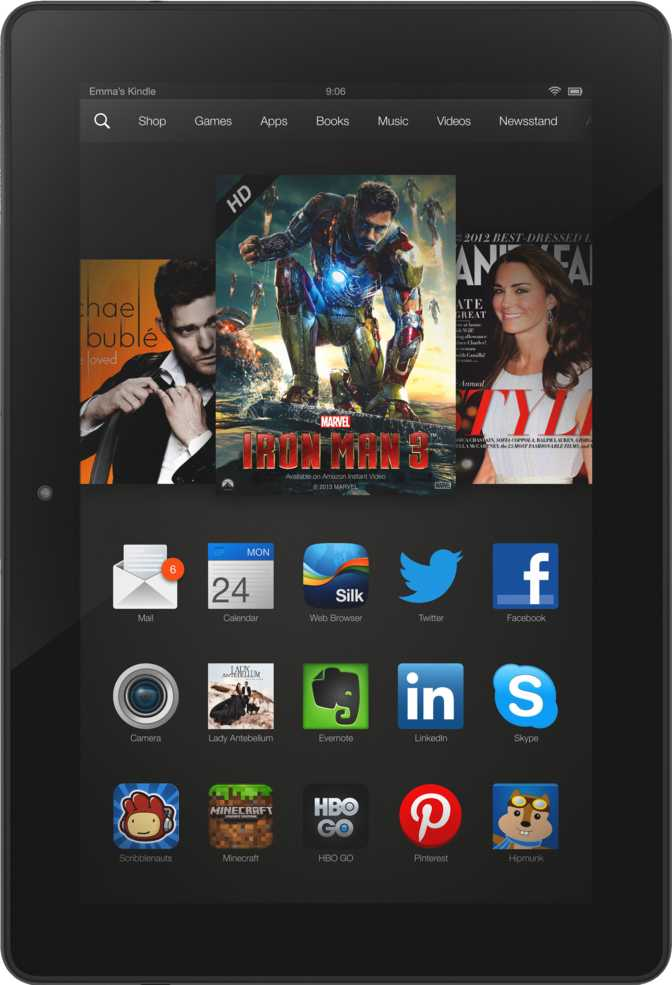 "Amazon Kindle Fire HDX 8.9"" LTE"