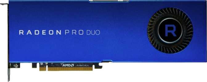 AMD Radeon Pro Duo Polaris