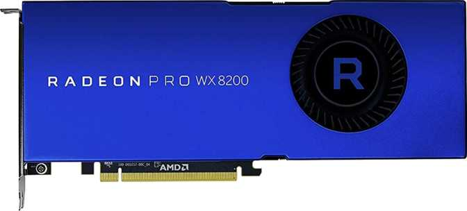 ≫ AMD Radeon Pro WX 8200 vs MSI Radeon RX Vega 64: What is