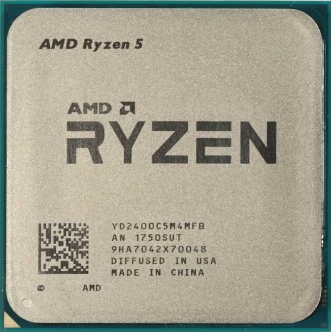 ≫ AMD A12-9800 vs AMD Ryzen 5 2400GE: What is the difference?