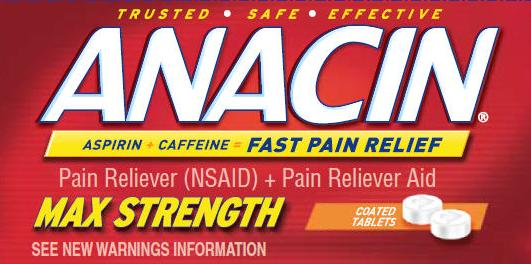 Anacin Maximum Strength Tablets