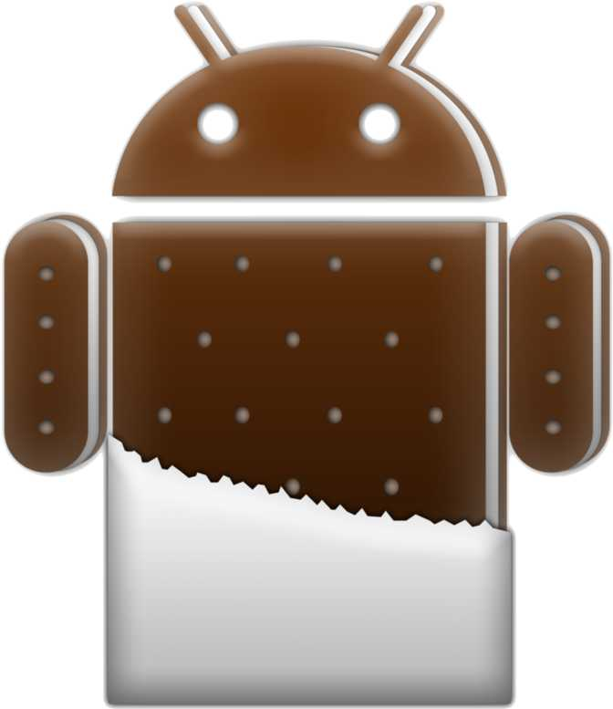 Android 4.0.3–4.0.4 Ice Cream Sandwich (API level 15)