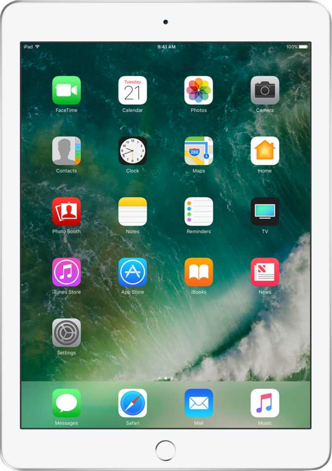"Apple iPad 9.7"" WiFi 128GB"