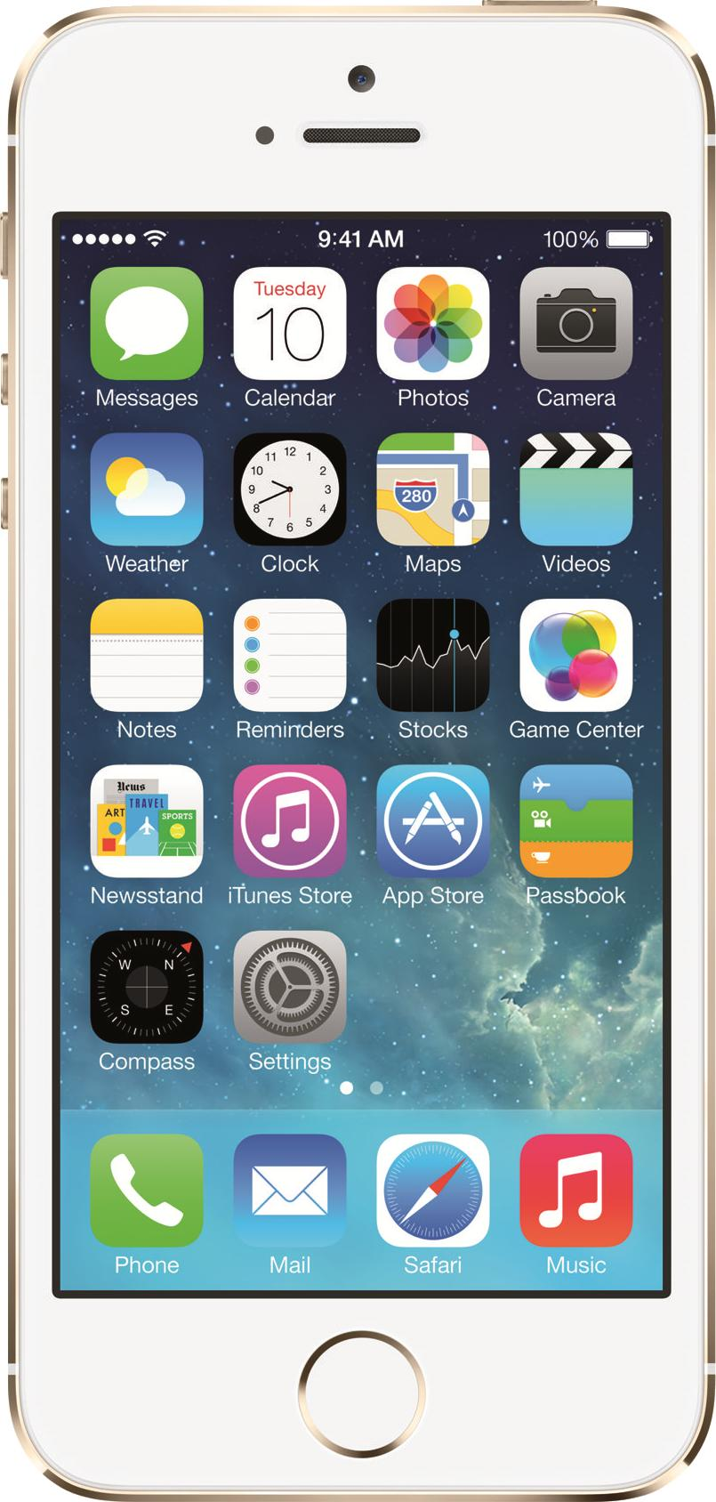 Apple iPhone 5S Champagne