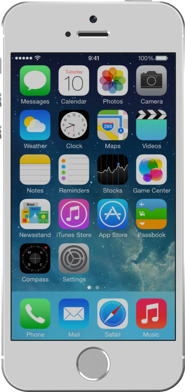 Apple iPhone 5S Prateado
