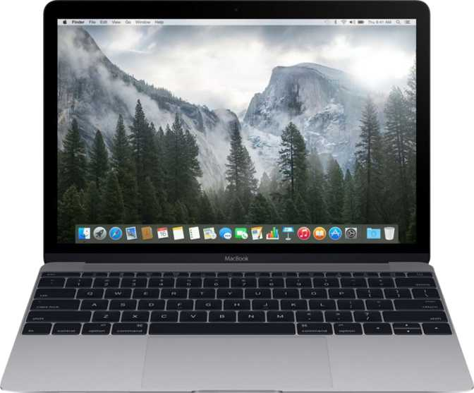 "Apple MacBook (2015) 12"" Intel Core M-5Y31 0.9GHz / 8GB / 256GB"
