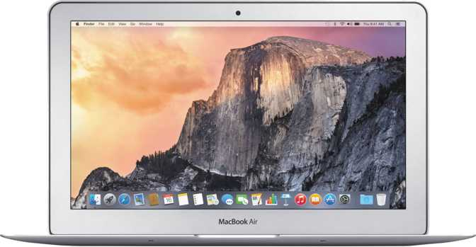 "Apple MacBook Air (2015) 11"" Intel Core i7 1.6GHZ / 4GB / 512GB"