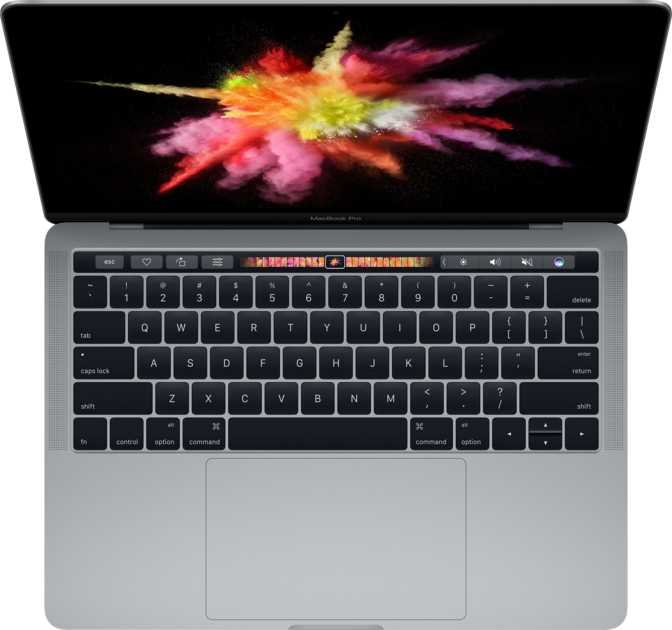 "Apple MacBook Pro (2016) 13"" with Touch Bar and Touch ID / Intel Core i5 3.1GHz / 16GB / 256GB"