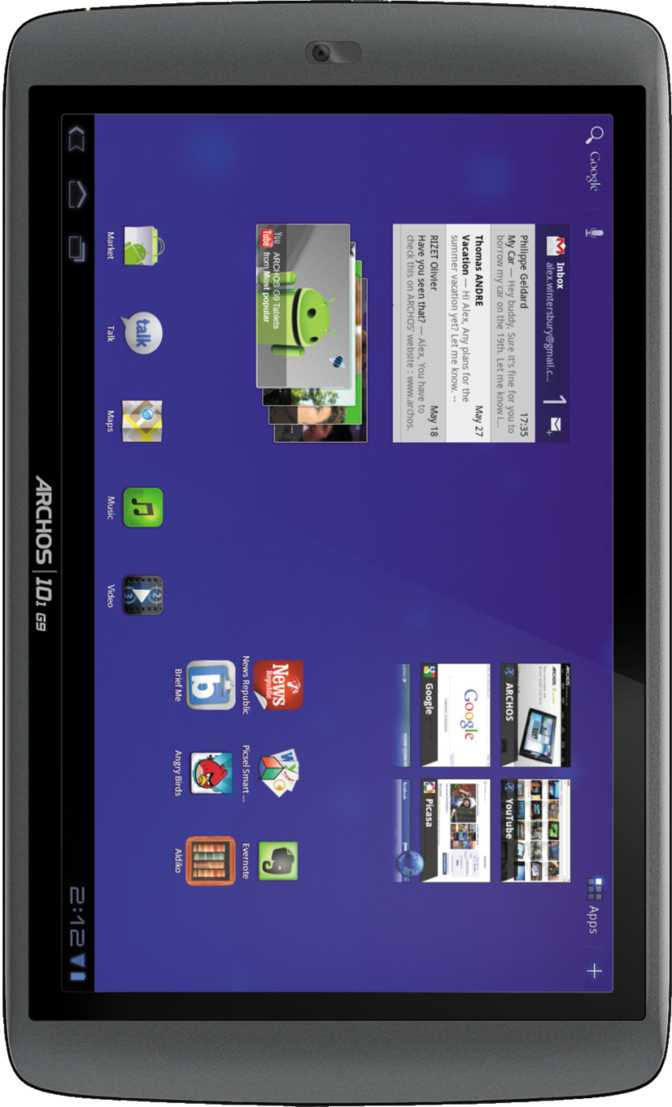 Archos 101 G9 HDD 8GB turbo version