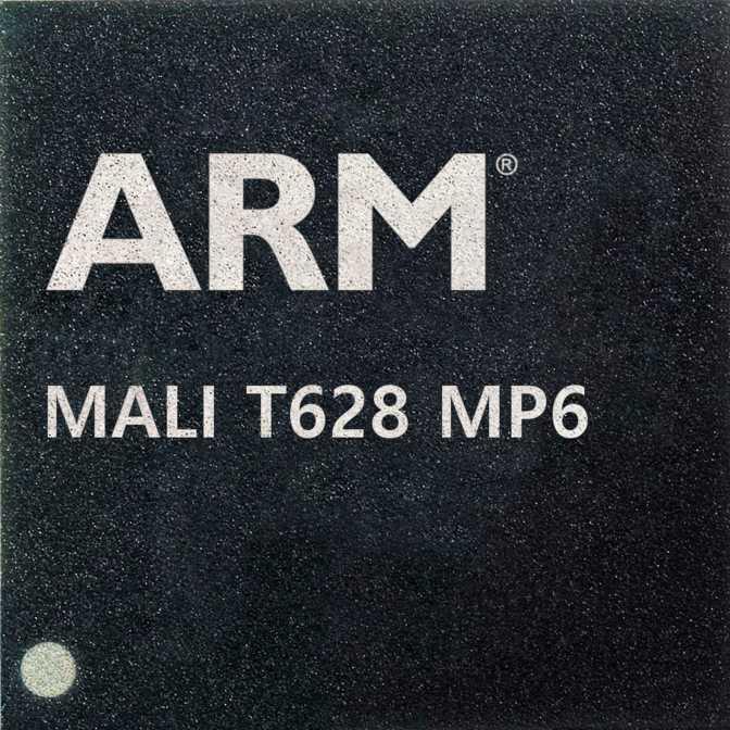 ARM Mali T628 MP6