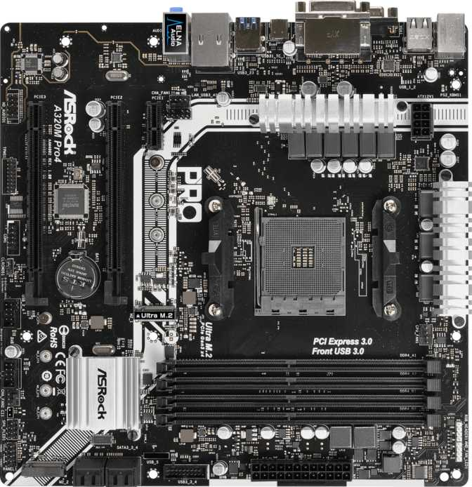 ≫ ASRock A320M Pro4 vs MSI B350M Gaming Pro: What is the difference?