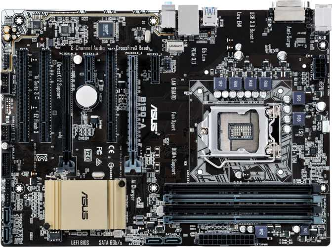 Asus B150-A Motherboard Drivers for Windows Download