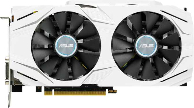 Asus Dual GeForce GTX 1060 OC