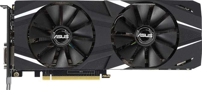 Asus Dual GeForce RTX 2060 Advanced