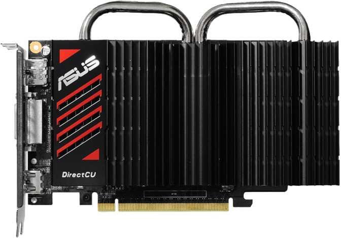 Asus GeForce GTX 750 DirectCU Silent