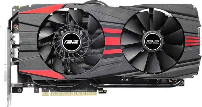 Asus GeForce GTX 960 DirectCU II OC Black Edition 4GB
