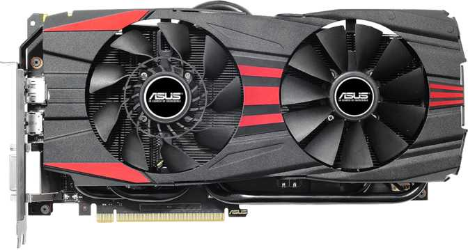 Asus GeForce GTX 960 DirectCU II OC Black Edition