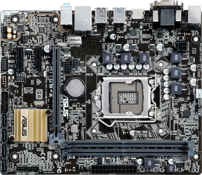Asus H110M-A