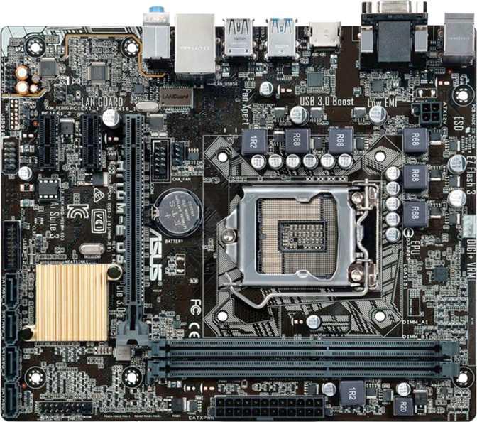 Asus H110M-E D3
