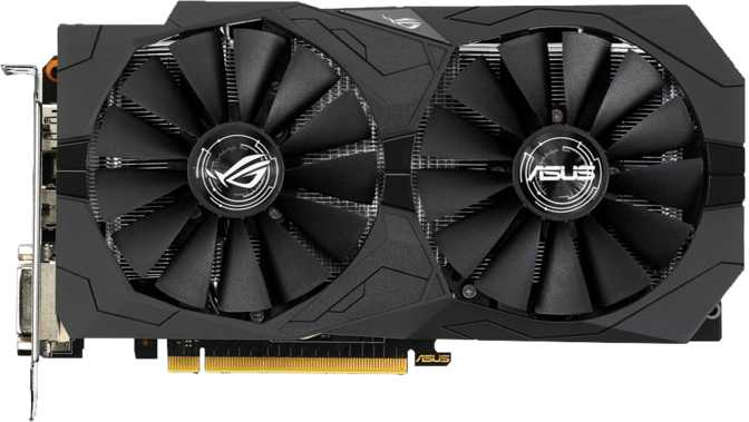 Asus ROG Strix GeForce GTX 1050 OC