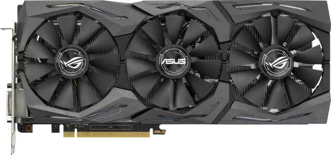 Asus ROG Strix GTX 1070 Ti Gaming Advanced