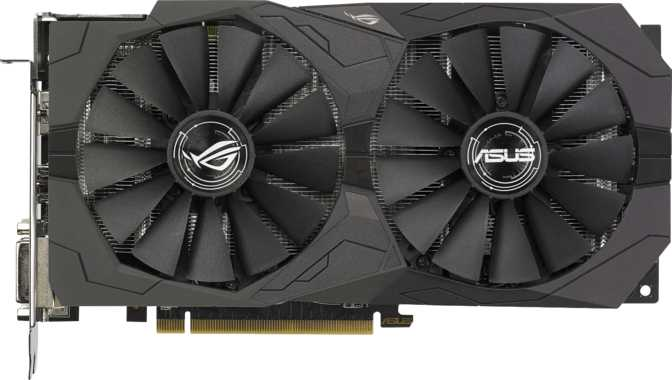 Asus ROG Strix Radeon RX 570 Gaming OC