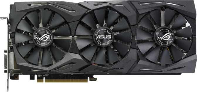 Asus ROG Strix Radeon RX 580 Gaming OC