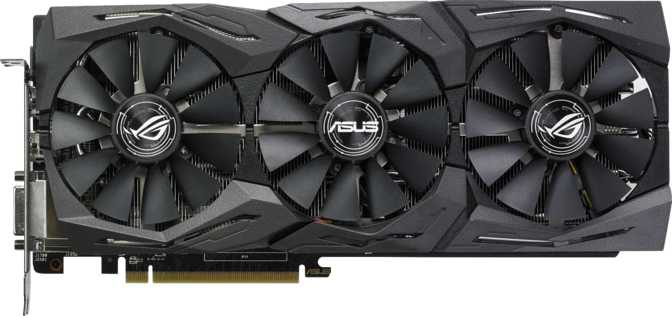 Asus ROG Strix Radeon RX 580 Top Edition