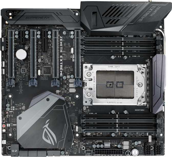 ≫ Asus ROG X399 Zenith Extreme vs Gigabyte Aorus GA-Z270X