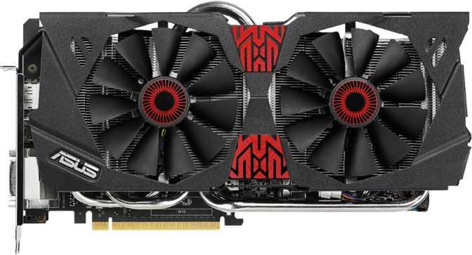 Asus Strix GeForce GTX 980 DirectCU II OC