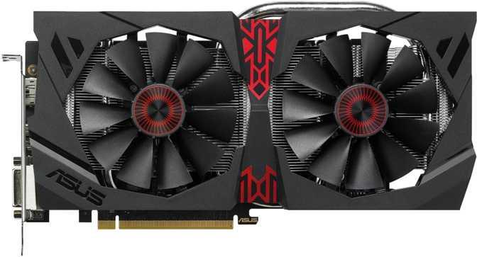 Asus Strix Radeon R9 380 DirectCU II OC 2GB