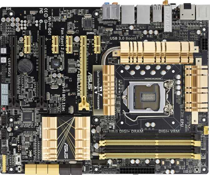 Asus Z87 Deluxe Dual