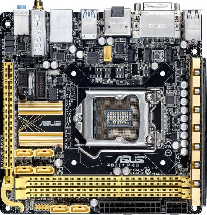 Asus Z87I Pro