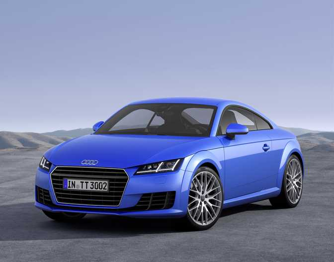 Audi TTS Coupe (2014)