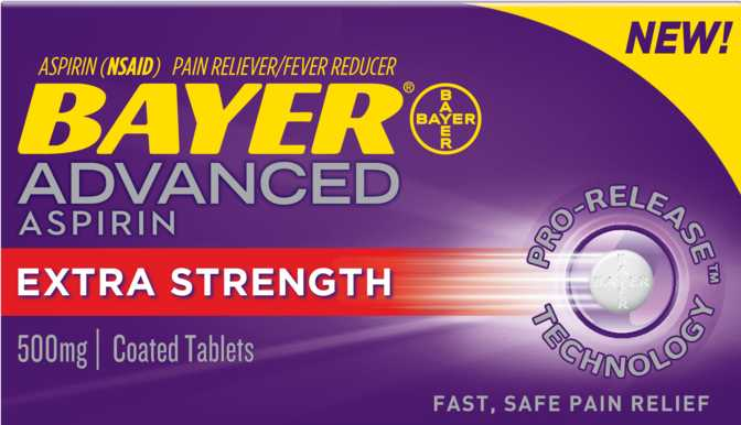 Bayer Aspirin Advanced
