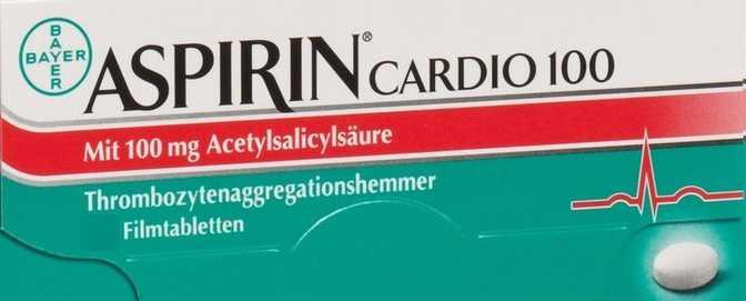 Bayer Aspirin Cardio 100