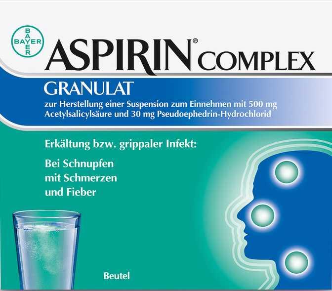Bayer Aspirin Complex