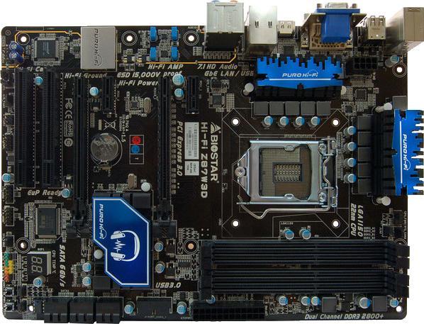 Biostar Hi-Fi Z87W 3D
