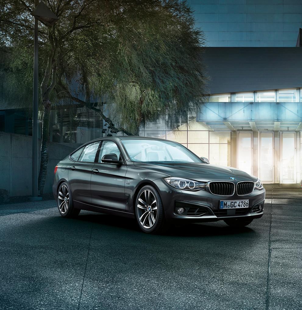 BMW 3 Series Gran Turismo 320i (2014)