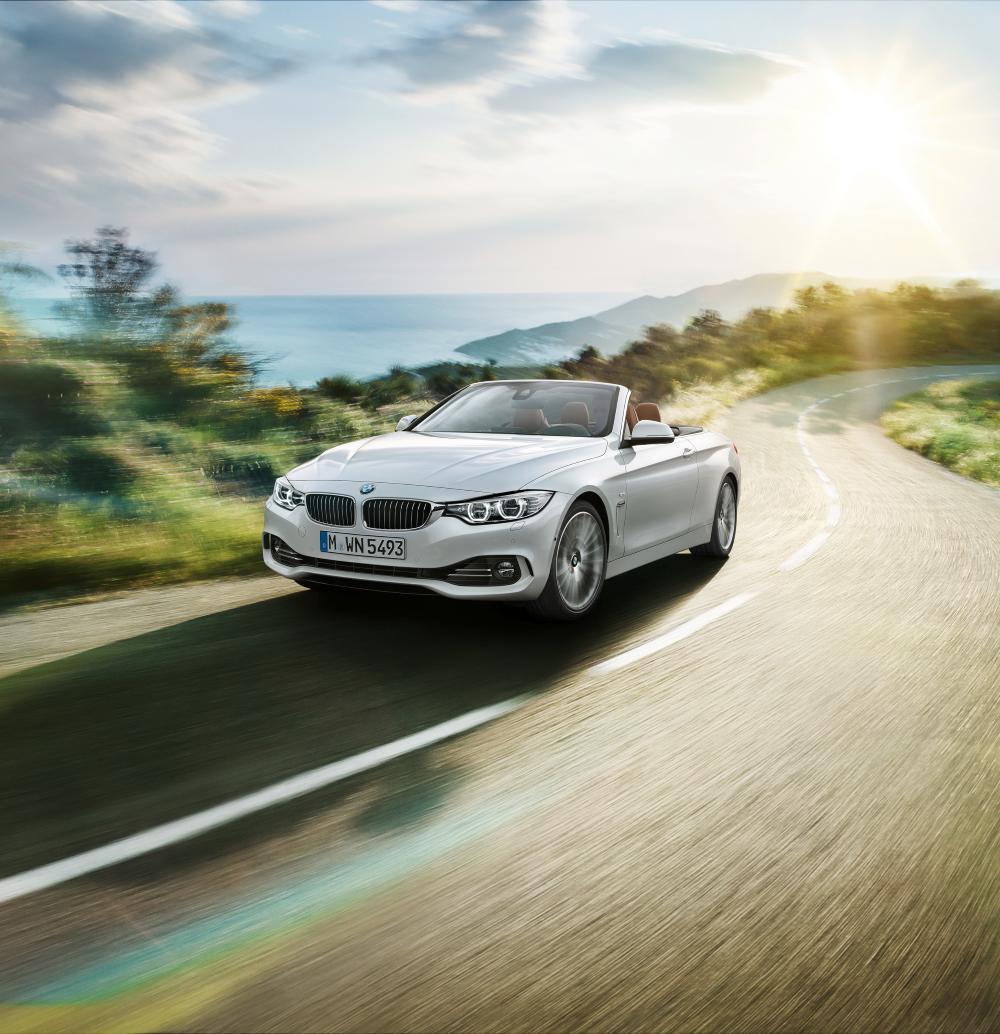 BMW 4 Series Convertible 428i (2014)