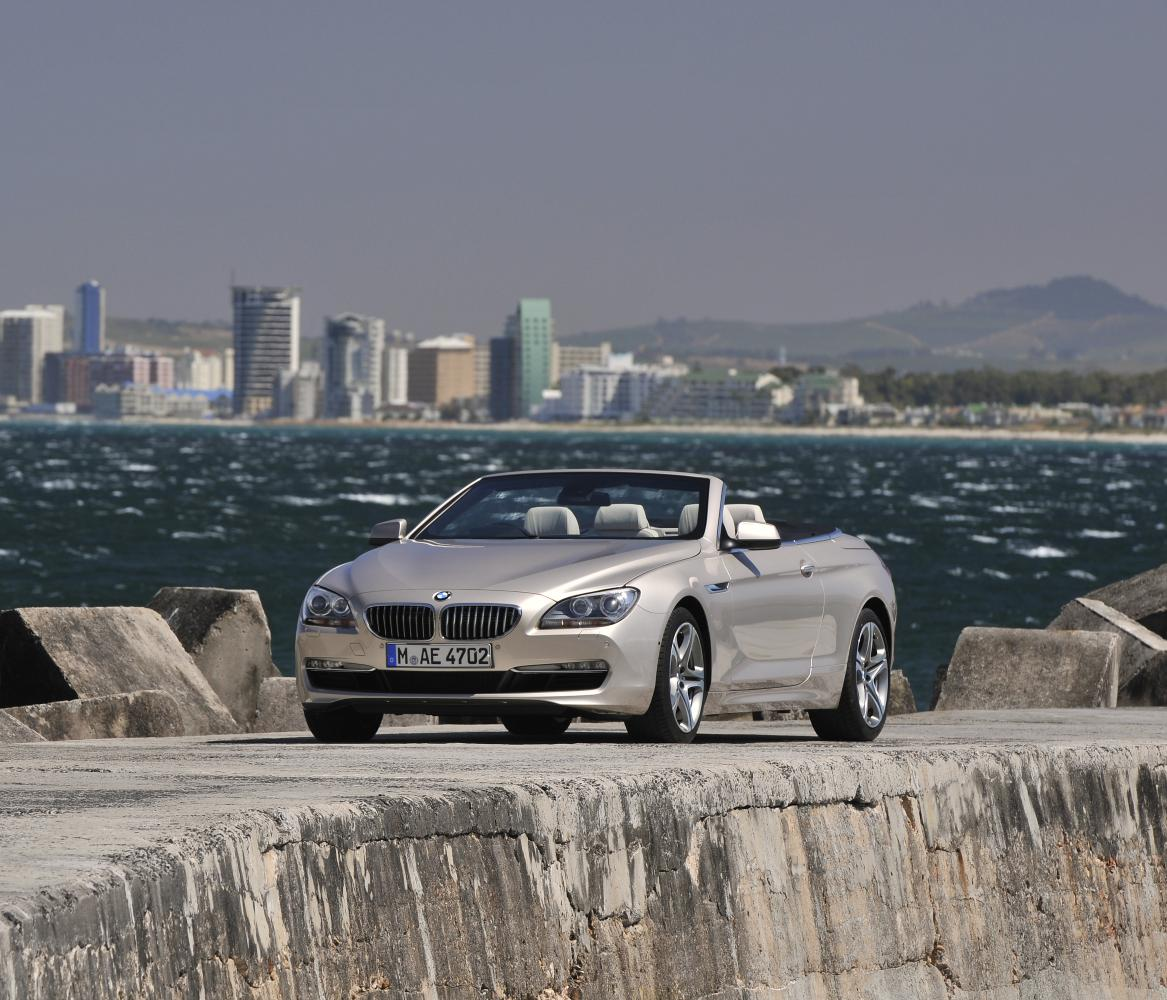 BMW 6 Series Convertible 640i (2014)