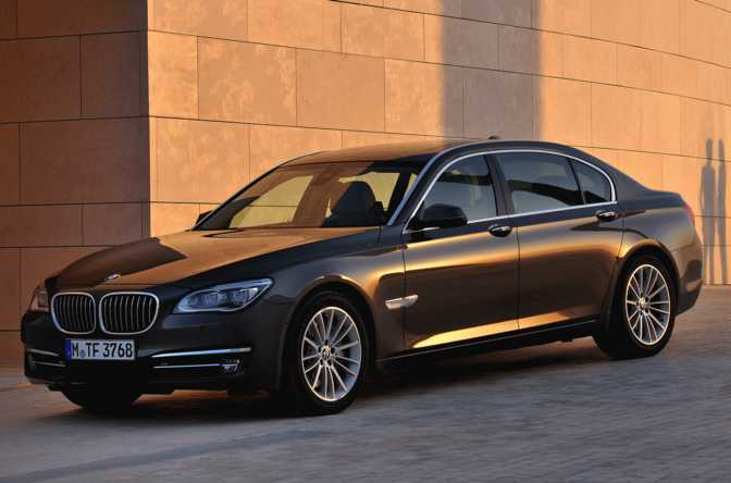 BMW 740Ld xDrive Sedan (2015)