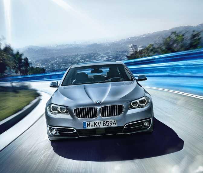 BMW ActiveHybrid 5 (2014)