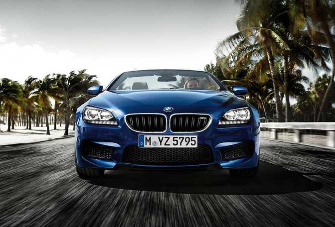 BMW M6 Convertible (2015)