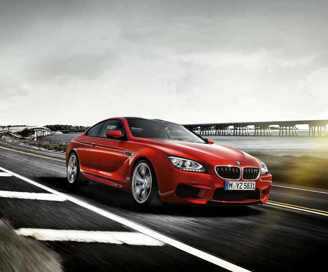 BMW M6 Coupe (2015)