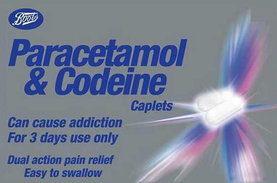 Boots Paracetamol & Codeine Caplets