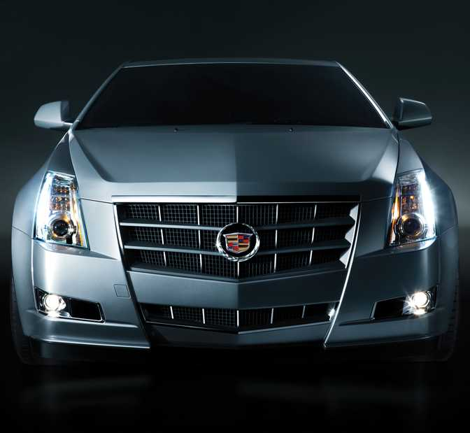 Cadillac CTS Coupe (2014)