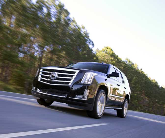 Cadillac Escalade (2015) Vs Toyota Land Cruiser (2014