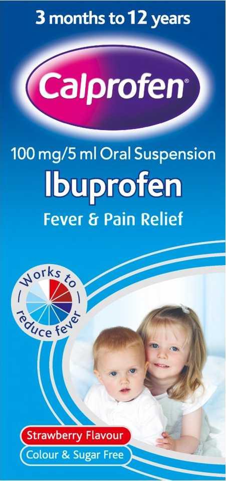 Calprofen Ibuprofen Suspension