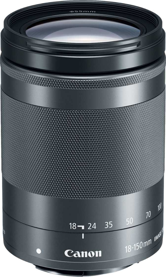 Renewed Canon EF-M 18-150mm f//3.5-6.3 is STM Lens Graphite with UV Filter